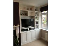Bespoke furniture, Fitted wardrobes, Alcove shelving, Bookcases, Under-stairs storages.