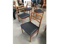 Absolutely stunning Beithcraft retro Mid Century Dining chairs.