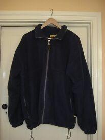 Navy Blue Lined Jacket