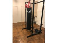 Lonsdale Heavy Extra Long Black and Red Bag