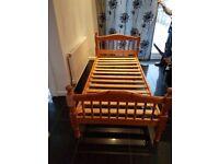 Pinewood single bed
