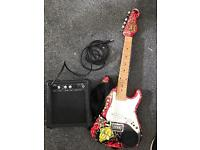 Kids Guitar plus amp