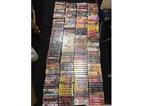250 + WWE VHS
