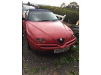 Alfa Spider Convertable 2ltr twin spark