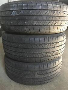 Set of 205/55R16 all season tires
