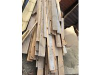 Gob lot used wooden floorboards