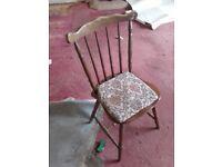 Kitchen hardwood chairs