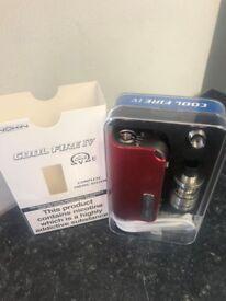 Innokin Cool Fire IV 40W Kit - Red & Silver - Brand New