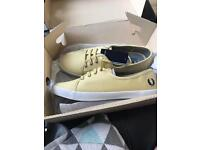 Ladies girls Fred perry shoes size 6 brand new