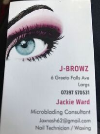 Have you eyebrows microbladed for the summer sun.