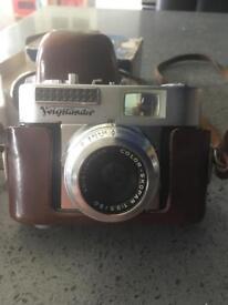 Voigtlander Vito BL camera, lense, flash unit