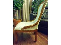 Beautiful French style chair for sale.