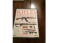 Rifles and machine guns