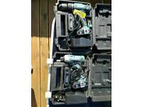 Erbauer drill driver and impact driver