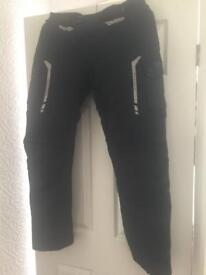 Large- regular motor bike trousers