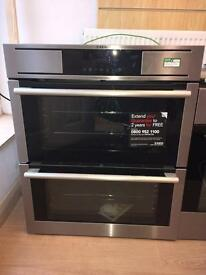 AEG NC7013001M Built Under Double Oven Stainless Steel U29256 RRP £777.22