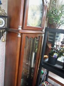 REPRODUCTION GRANDFATHER CLOCK IN ALL WORKING CONDITION AS NEW