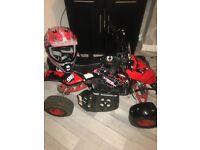 Electric Funbikes Quad 36v 800 Watt with keystart
