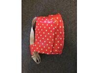 Cath Kidston Changing bag, changing mat, bottle holder