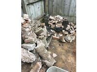 Free assorted rubble/bricks/gravel/concrete
