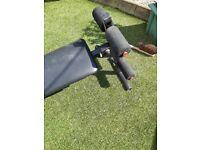 Sit Up Bench. Adjustable. £10