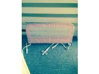 Mothercare bed guard pink