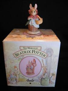 "BORDER FINE ARTS ""MRS. RABBIT"" FIGURINE"