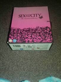 Sex and the city complete dvd collection