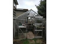Free of charge!! Greenhouse! Good quality, some panes to be replaced. Must be dismantled.
