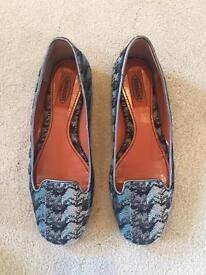 Missoni ballet flats/loafers - Size 37/UK 4