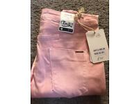 Brand New Pink Toxik 3 High Waisted Jeans - Size 14