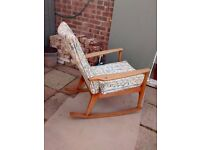 Rare Parker Knoll Rocking Chair Model P.K. 988 series