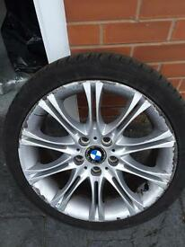 Bmw 18 inch wheel and tyre