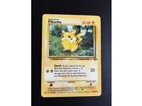Pikachu Pokemon card RARE
