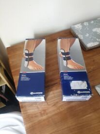 Bauerfeind AirLoc Ankle Support right and left good condition price is for both