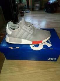 Grey addidas trainers size 3