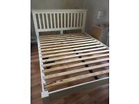 Cream kingsize bedframe