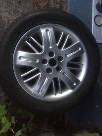 Rover 75 Club alloy wheel, excellent condition, £25