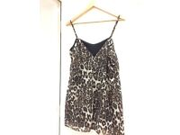Asos size 10 leopard print dress