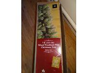 7ft Mixed Woodland Pine Christmas Tree