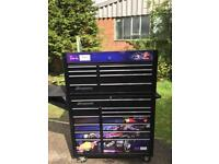 Red Bull Racing Snap-On Roll Cab and Top Box