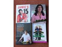 4 ASSORTED COOKERY BOOKS