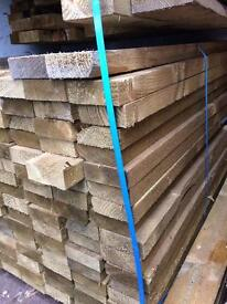 "New timber joists 4x1-1/2"" x 13 ft"