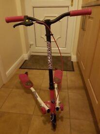 Girls Flicker Scooter - used twice!