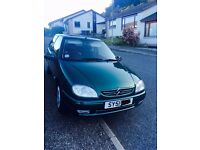CITROEN SAXO 1.1 Turbo Green 3dr MOT till Dec 2017