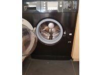 Black Bosch washer/dryer
