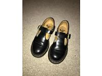 DR MARTENS POLLEY SHOES SIZE 3