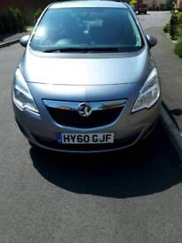 Vauxhall meriva 1.4 16v petrol