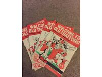 MANCHESTER UNITED PROGRAMS 1975/76⚽️