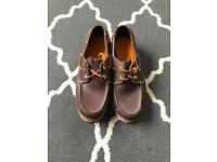 Pair of timberland shoes size 4
